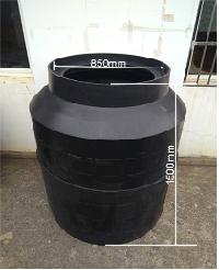 HDPE一体化实壁收口排水检查井