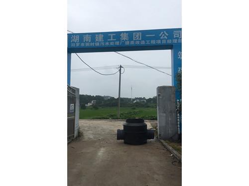 汨罗市粥时镇污水处理厂提质履行工程项目